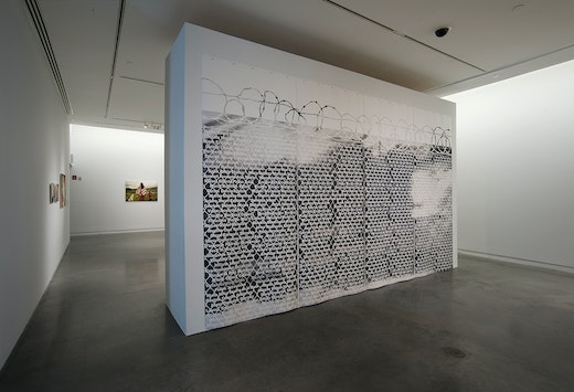 """Andrea Bowers """"Sanctuary: Andrea Bowers,"""" Installation View"""
