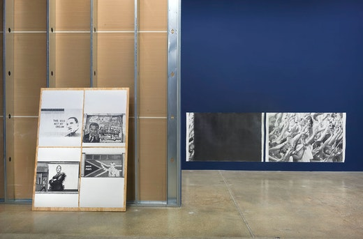 """Karl Haendel """"BY AND BY,"""" Installation View"""