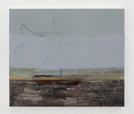 This is an artwork titled Untitled (Lightning and Fog) by artist Whitney Bedford made in 2011