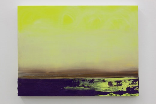 This is an artwork titled Untitled (Yellow Swell) by artist Whitney Bedford made in 2011
