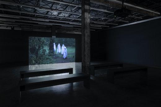 Rodney McMillian Untitled (neighbors), Installation view