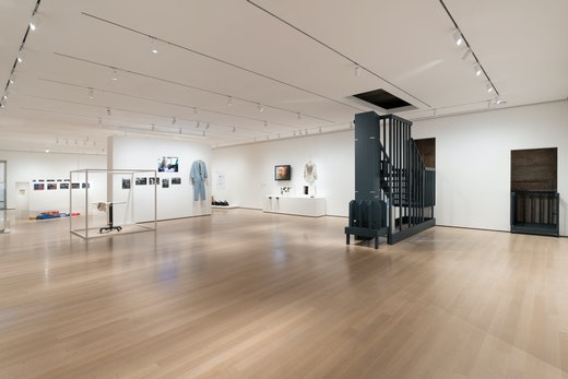 Installation view of member: Pope.L, 1978–2001, The Museum of Modern Art, New York, October 21, 2019 – February 1, 2020. © 2019 The Museum of Modern Art. Photo: Martin Seck