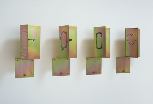"""Mary Kelly """"Pecunia Minor,"""" 1989"""