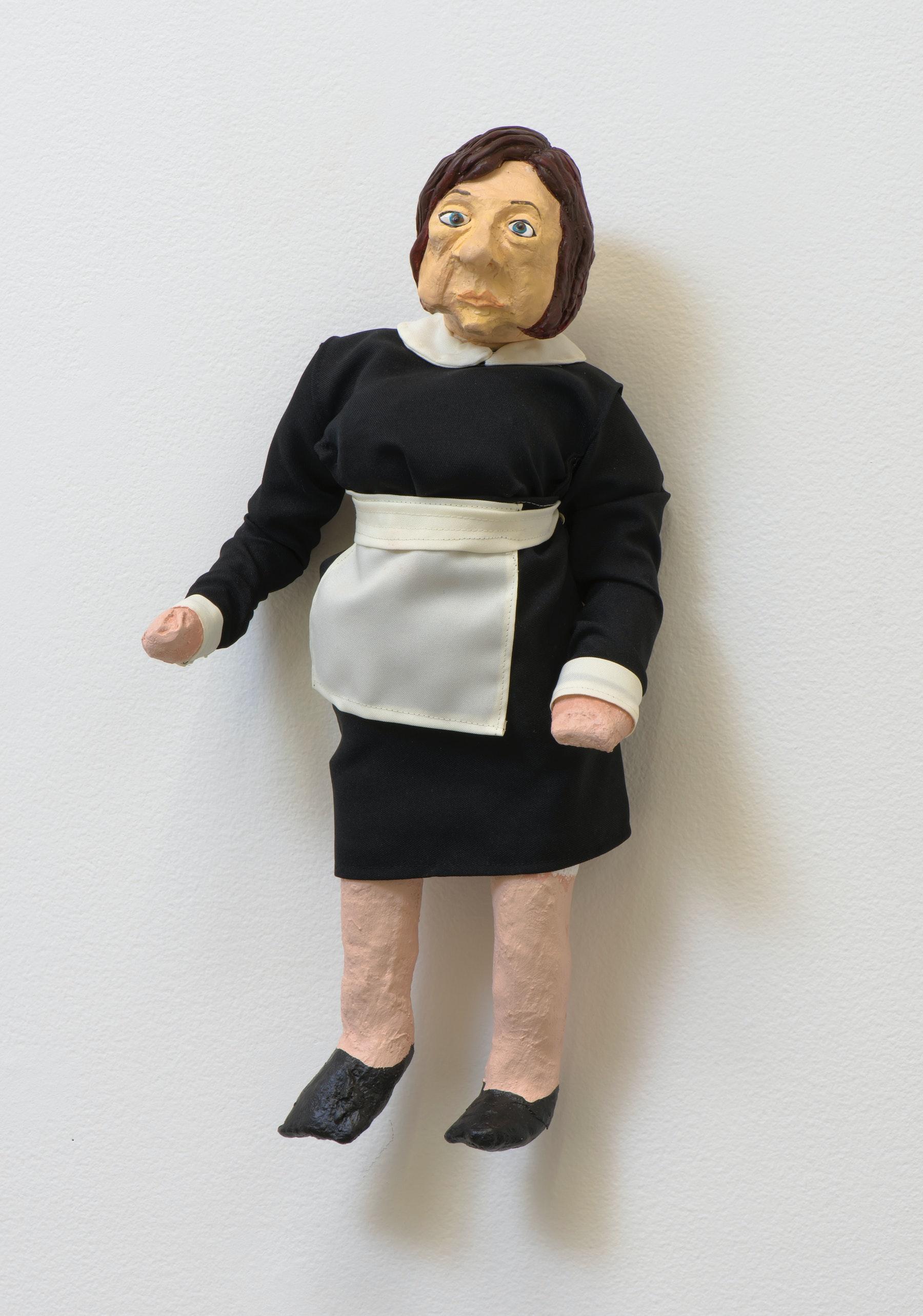 "My Barbarian ""Brigitte (doll),"" 2014 20.25"" H x 10"" W x 5"" D (51.44 cm H x 25.4 cm W x 12.7 cm D) Inventory #MBB202 Courtesy of Vielmetter Los Angeles Photo credit: Robert Wedemeyer"