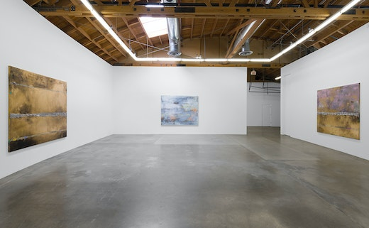 Installation view, Solo Exhibition at Susanne Vielmetter Los Angeles Projects, 2018