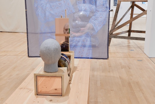 """Dave McKenzie """"SOFT POWER"""" at SFMOMA (October 26, 2019–February 17, 2020) Installation view"""