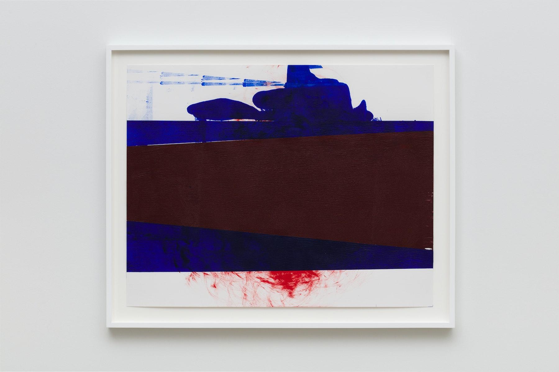 "Elizabeth Neel ""US 29,"" 2019 Acrylic on paper 22.5 x 28.5"" [HxW] (57.15 x 72.39 cm) Inventory #NEE245 Courtesy of the artist and Vielmetter Los Angeles Photo credit: Jeff McLane"