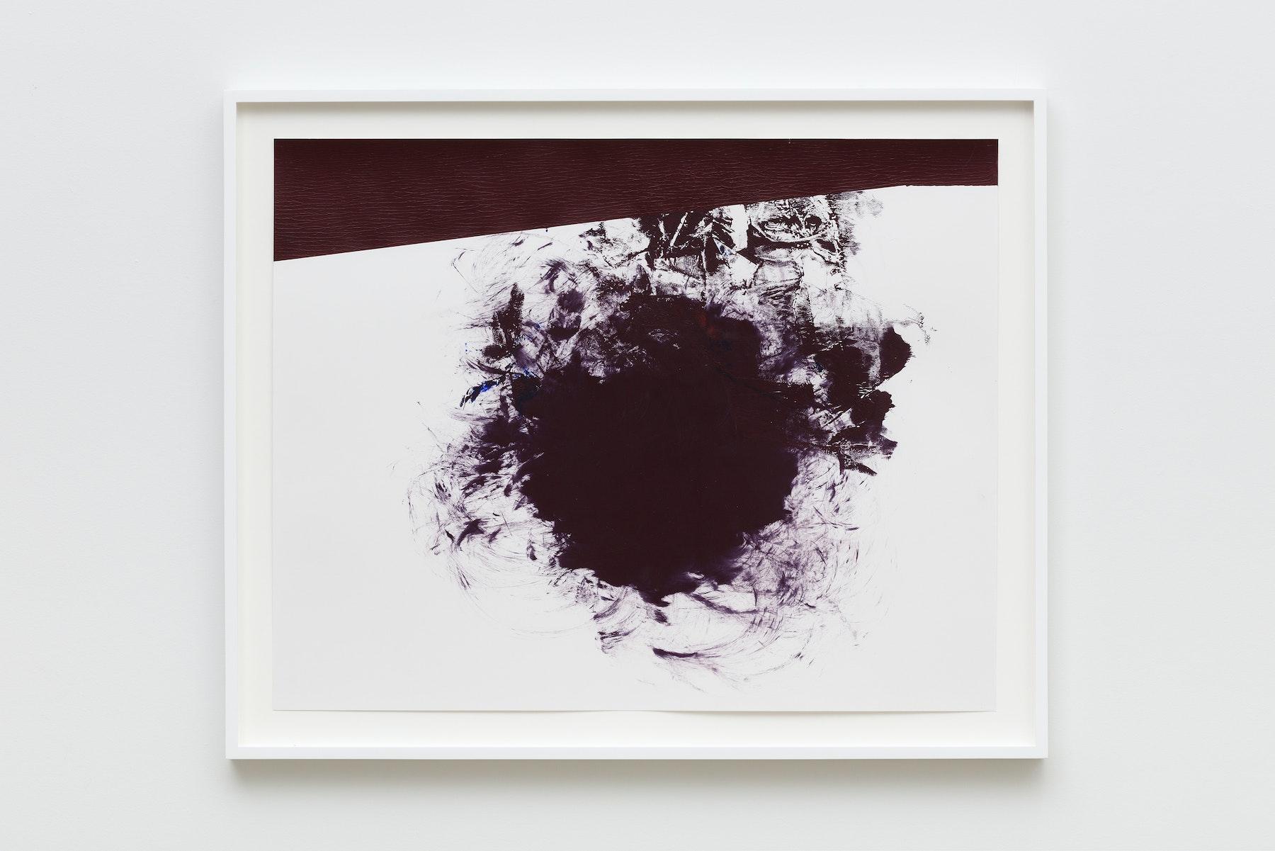 "Elizabeth Neel ""US 4,"" 2019 Acrylic on paper 22.5 x 28.5"" [HxW] (57.15 x 72.39 cm) Inventory #NEE246 Courtesy of the artist and Vielmetter Los Angeles Photo credit: Jeff McLane"