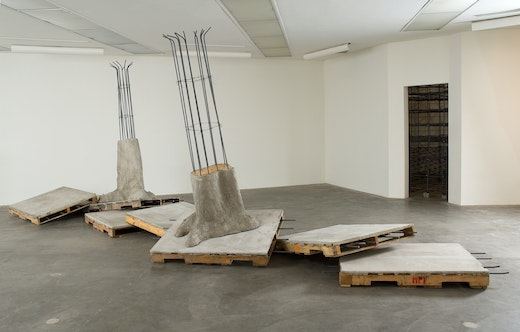 This is an artwork titled Infracted Expansion by artist Ruben Ochoa made in 2007