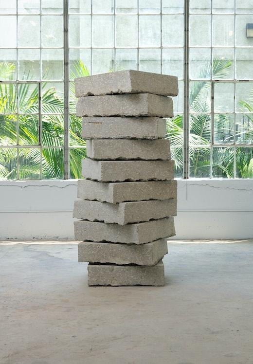 """Ruben Ochoa """"A bit of detritus,"""" 2011"""
