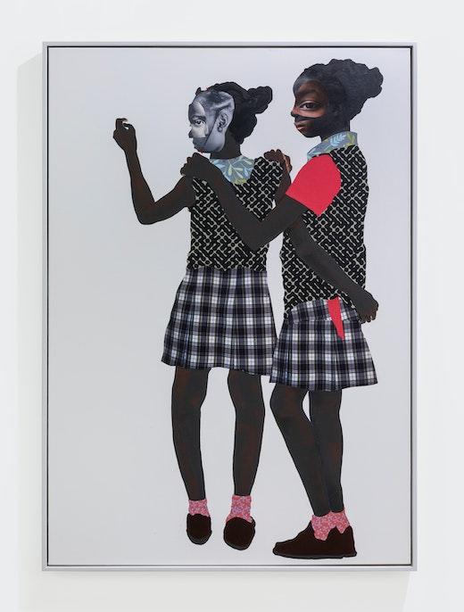 "Deborah Roberts ""Sista Struggle,"" 2019"