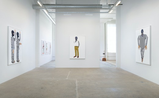 """""""Native Son: Many thousands gone"""" Installation view"""