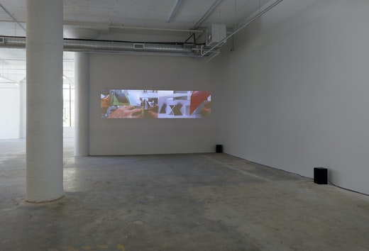 """Steve Roden """"could/cloud"""" Installation view"""