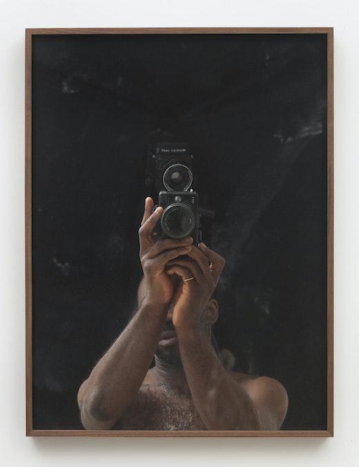 """Paul Mpagi Sepuya """"Drop Scene (_2200693),"""" 2018"""
