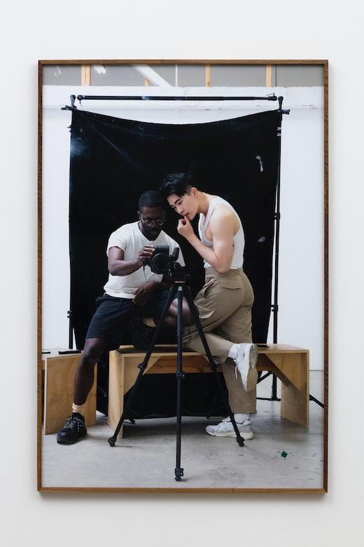 "Paul Mpagi Sepuya ""A conversation around pictures (0X5A5079),"" 2019"