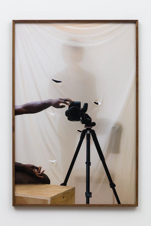 """Paul Mpagi Sepuya """"Screen (0X5A8295),"""" 2019"""
