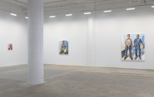 John Sonsini Cowboy Stories & New Paintings Installation View