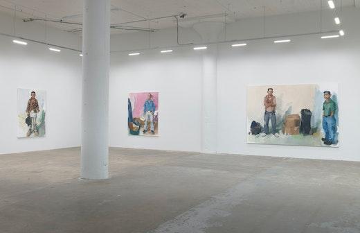 John Sonsini Cowboy Stories & New Paintings Installation View