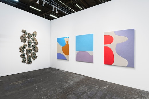 Installation view The Armory Show, Booth 803
