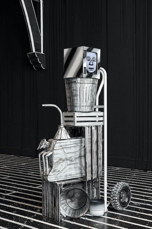 "Mary Reid Kelley & Patrick Kelley ""Rand/Goop"" Installation view"