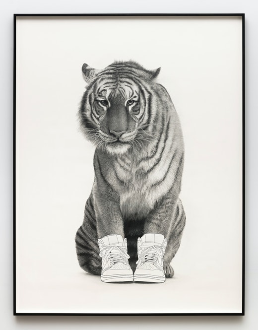 "Karl Haendel ""Tiger,"" 2019"