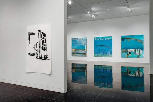 Amy Sillman: The Nervous System Installation view