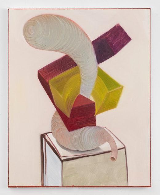 "Nicole Eisenman ""Cubist Female Innards 2,"" 2019"