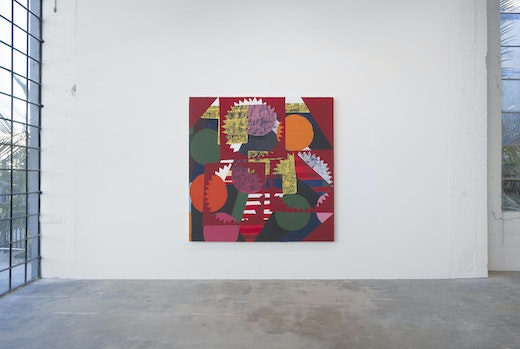 """Nick Aguayo solo exhibition """"Wake the Town and Tell the People"""" Installation view"""