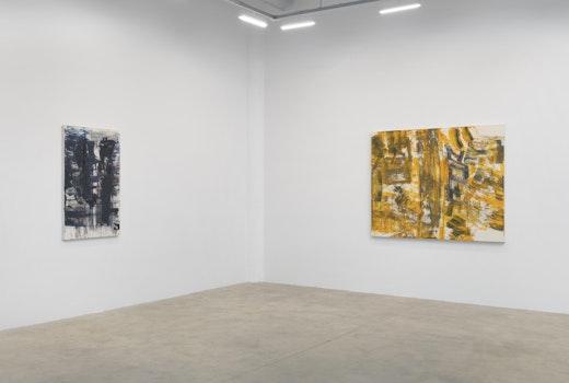 Louise Fishman solo exhibition Installation view