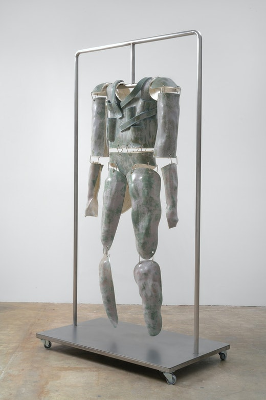 "Liz Glynn ""Affective Armor,"" 2019"
