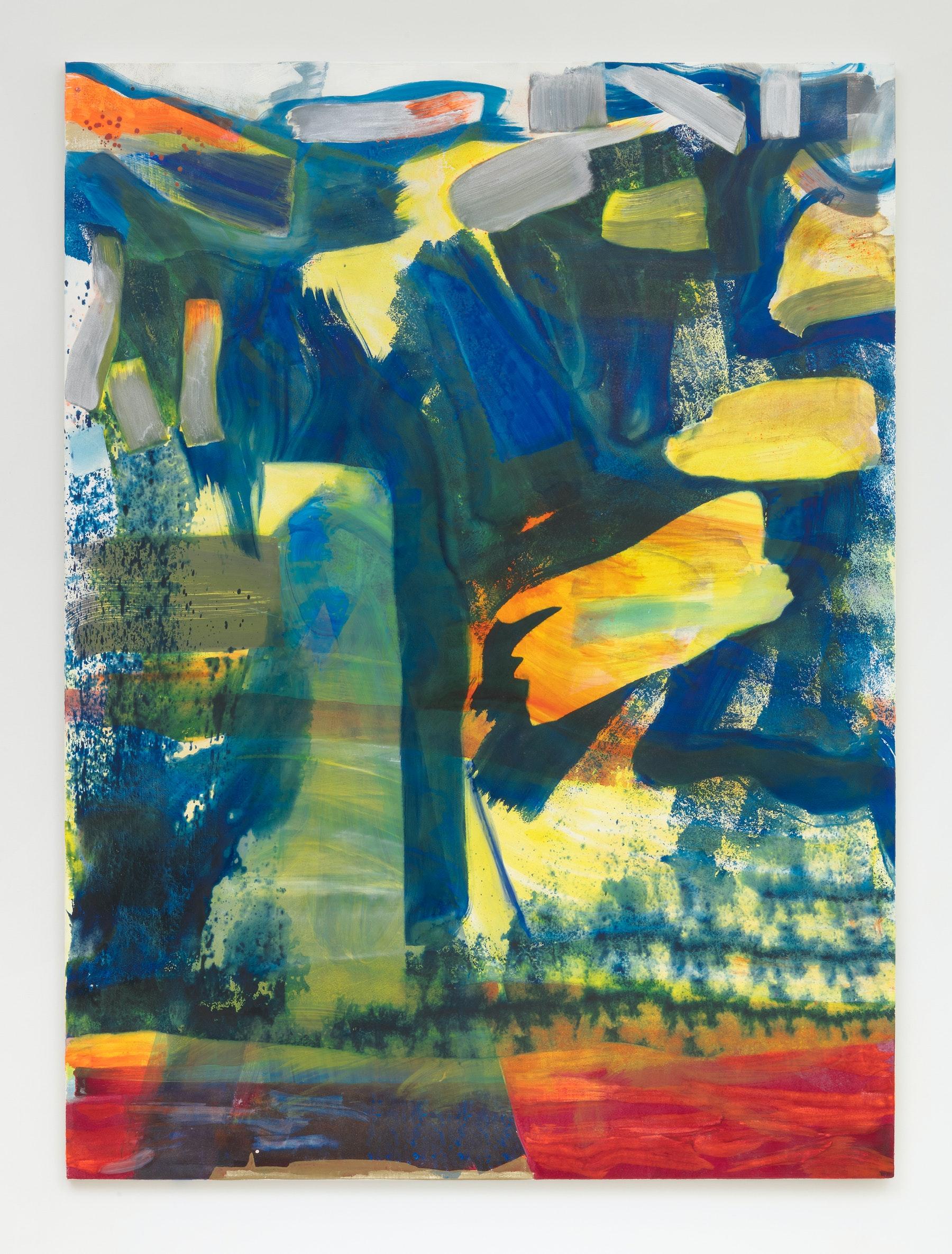"Monique Van Genderen ""Untitled,"" 2020 Oil on linen 78 x 58"" [HxW] (198.12 x 147.32 cm) Inventory #VGE374 Courtesy of the artist and Vielmetter Los Angeles Photo credit: Robert Wedemeyer"