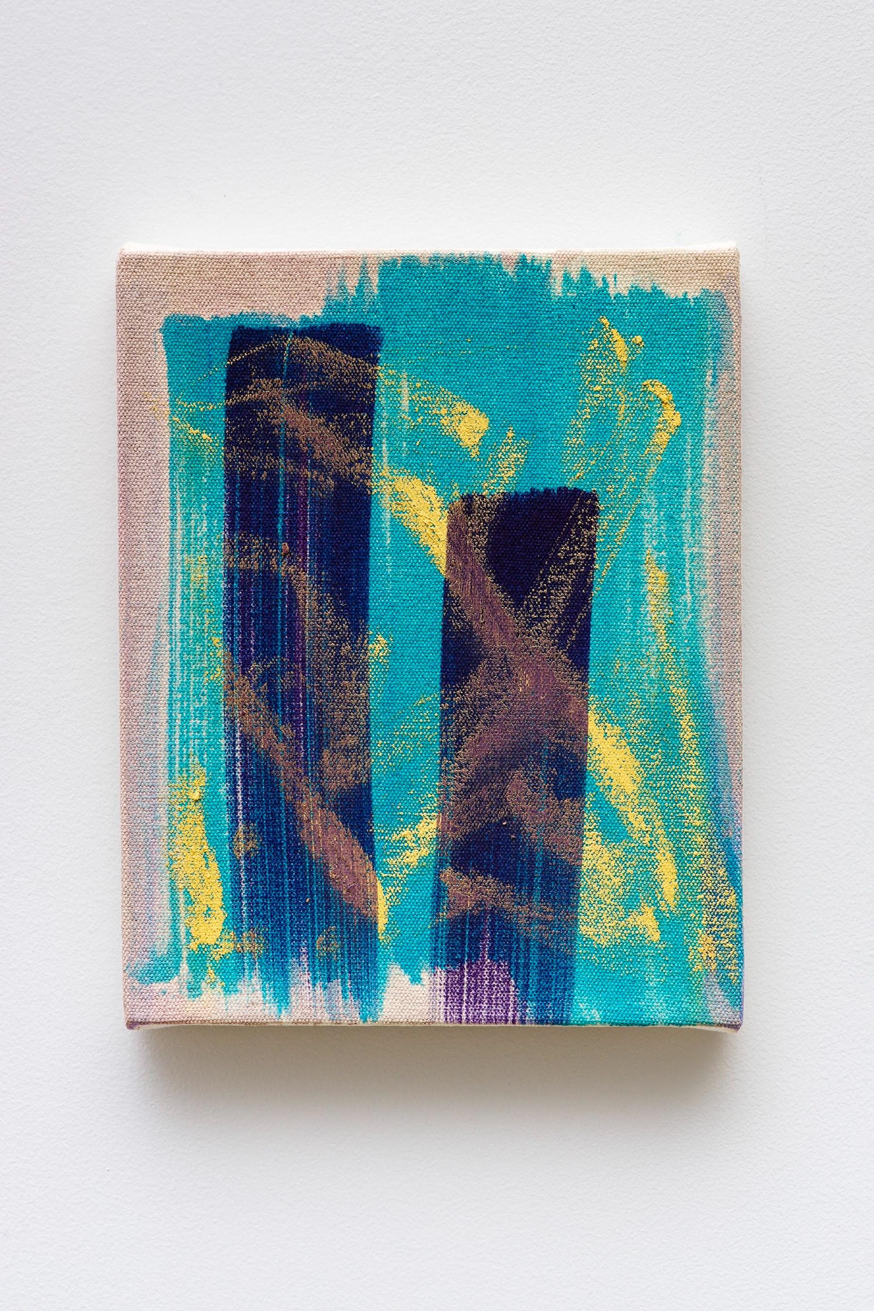 "Monique Van Genderen ""Untitled,"" 2020 Oil on canvas 10 x 8"" [HxW] (25.4 x 20.32 cm) Inventory #VGE389 Courtesy of the artist and Vielmetter Los Angeles Photo credit: Jeff Mclane"