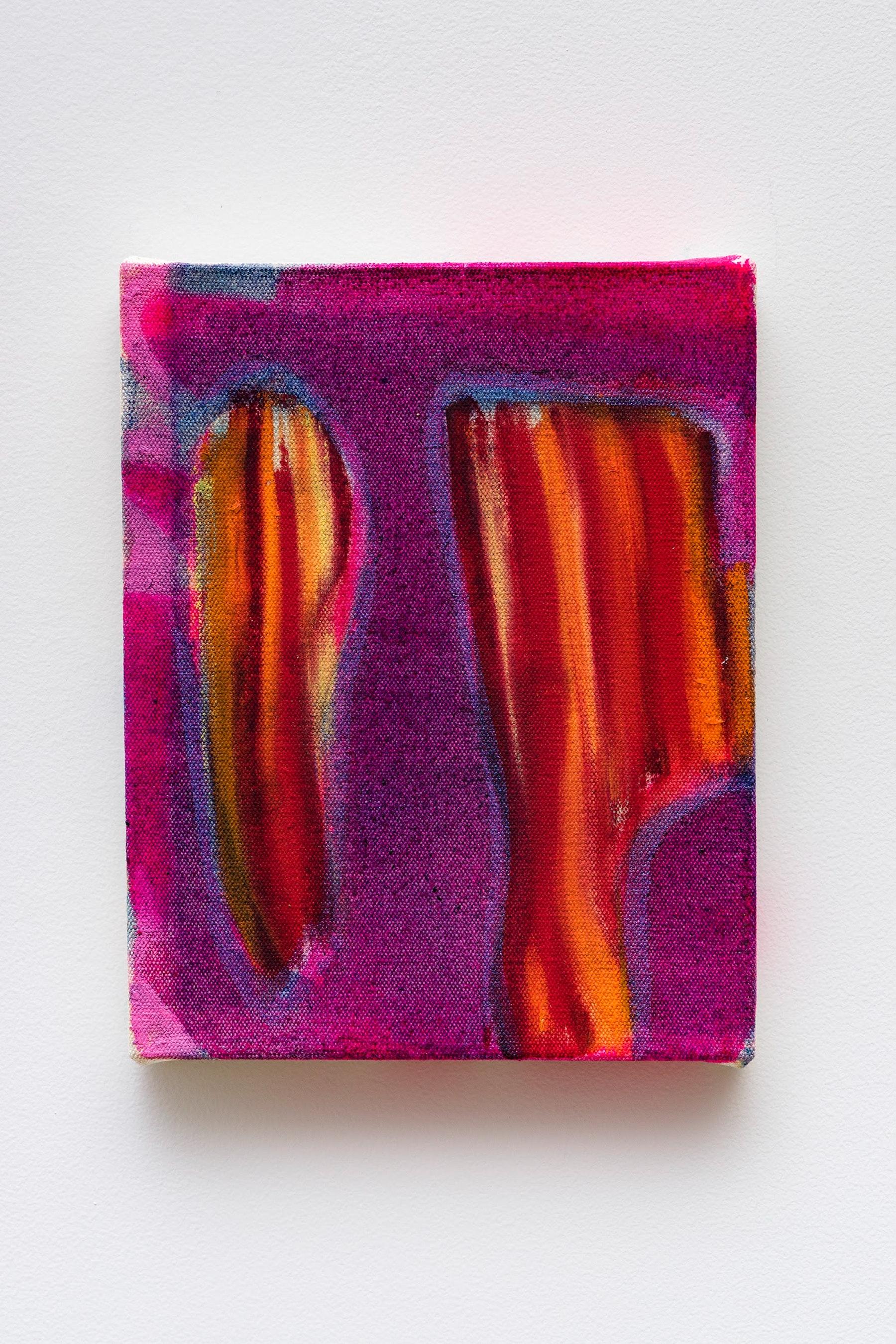 "Monique Van Genderen ""Untitled,"" 2020 Oil on canvas 10 x 8"" [HxW] (25.4 x 20.32 cm) Inventory #VGE394 Courtesy of the artist and Vielmetter Los Angeles Photo credit: Jeff Mclane"