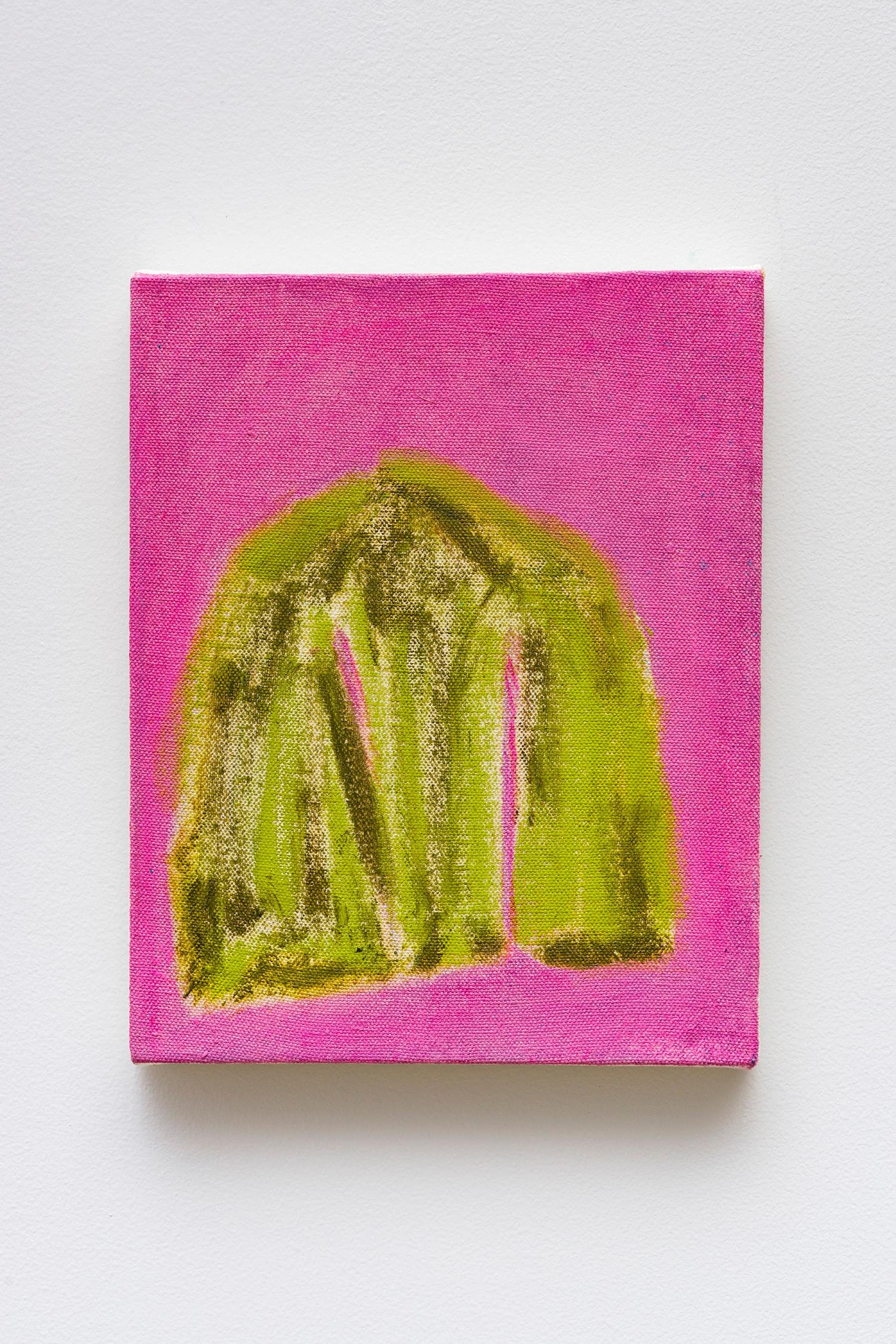 "Monique Van Genderen ""Untitled,"" 2020 Oil on canvas 10 x 8"" [HxW] (25.4 x 20.32 cm) Inventory #VGE395 Courtesy of the artist and Vielmetter Los Angeles Photo credit: Jeff Mclane"