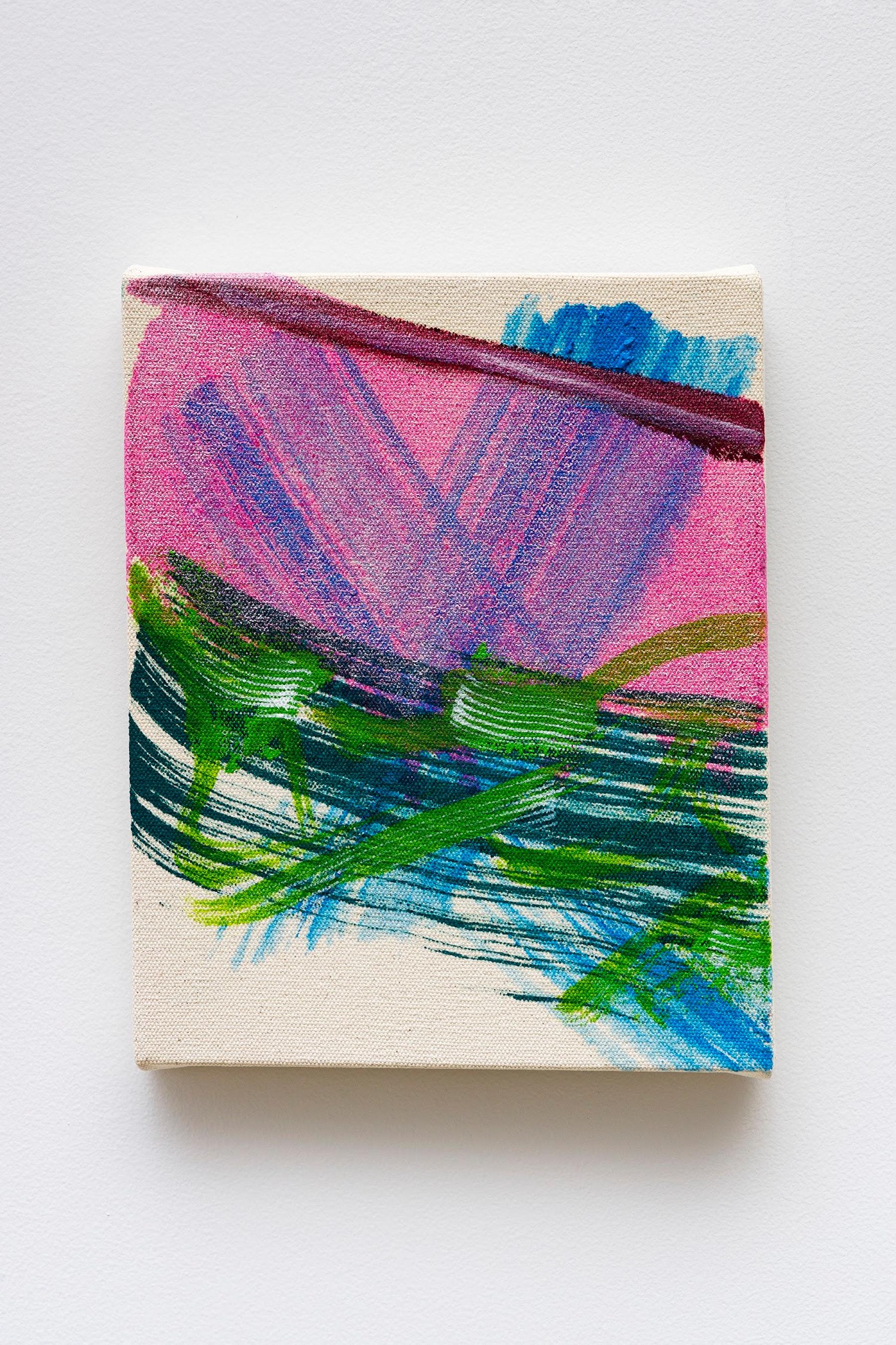 "Monique Van Genderen ""Untitled,"" 2020 Oil on canvas 10 x 8"" [HxW] (25.4 x 20.32 cm) Inventory #VGE398 Courtesy of the artist and Vielmetter Los Angeles Photo credit: Jeff Mclane"