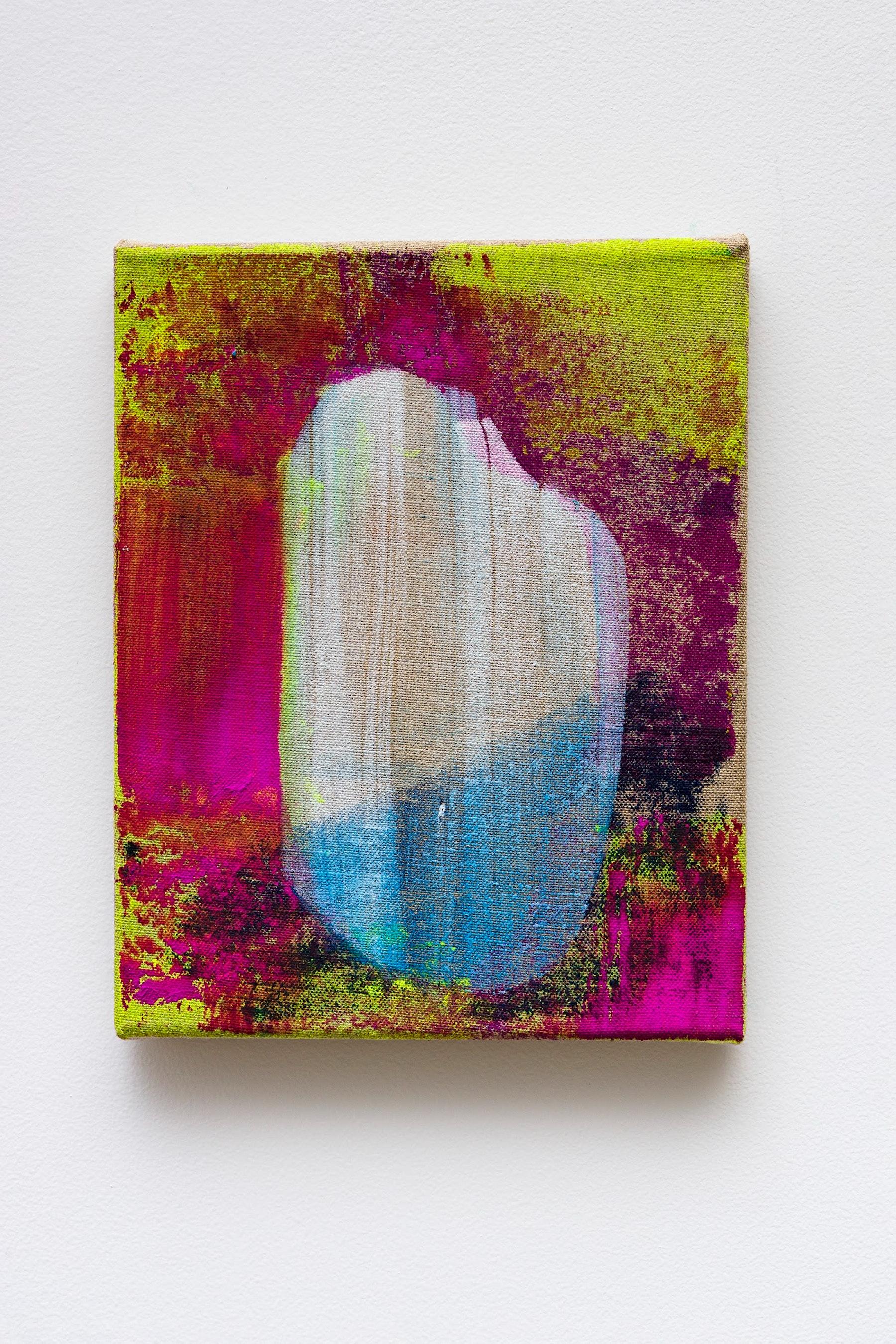 "Monique Van Genderen ""Untitled,"" 2020 Oil on linen 10 x 8"" [HxW] (25.4 x 20.32 cm) Inventory #VGE399 Courtesy of the artist and Vielmetter Los Angeles Photo credit: Jeff Mclane"