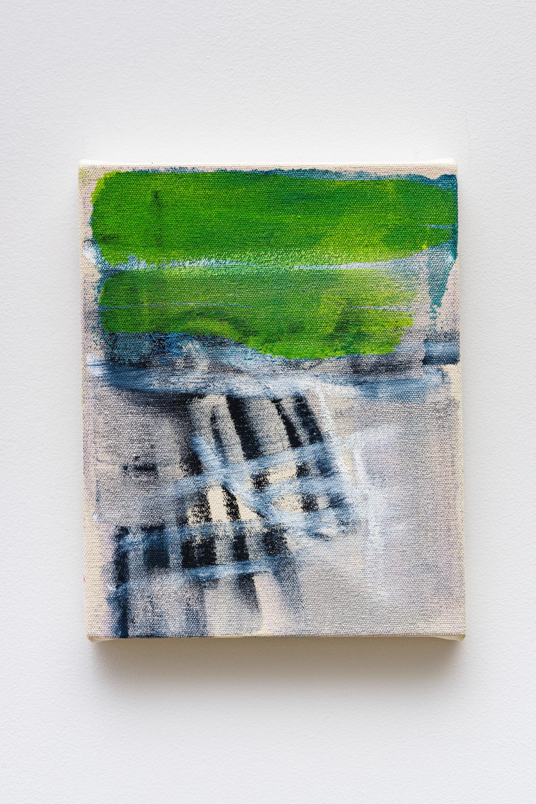 "Monique Van Genderen ""Untitled,"" 2020 Oil on canvas 10 x 8"" [HxW] (25.4 x 20.32 cm) Inventory #VGE400 Courtesy of the artist and Vielmetter Los Angeles Photo credit: Jeff Mclane"