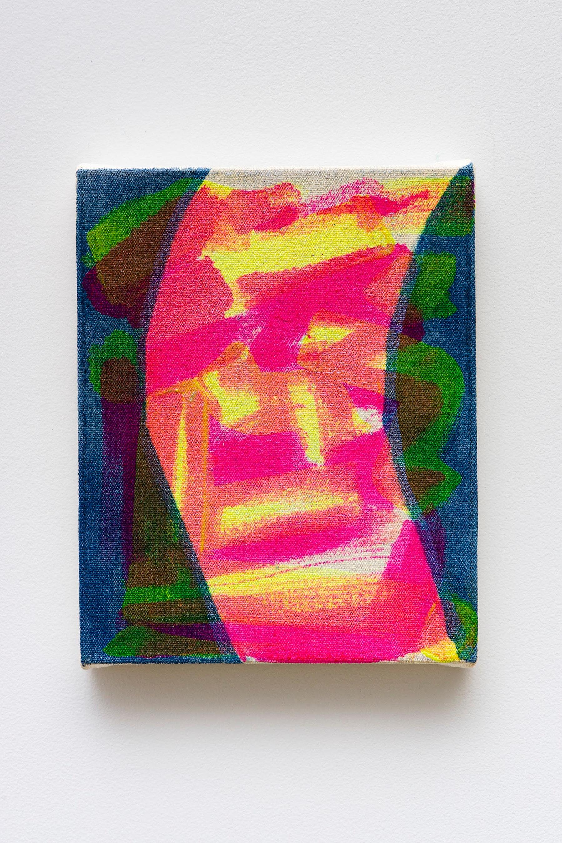 "Monique Van Genderen ""Untitled,"" 2020 Oil on canvas 10 x 8"" [HxW] (25.4 x 20.32 cm) Inventory #VGE401 Courtesy of the artist and Vielmetter Los Angeles Photo credit: Jeff Mclane"