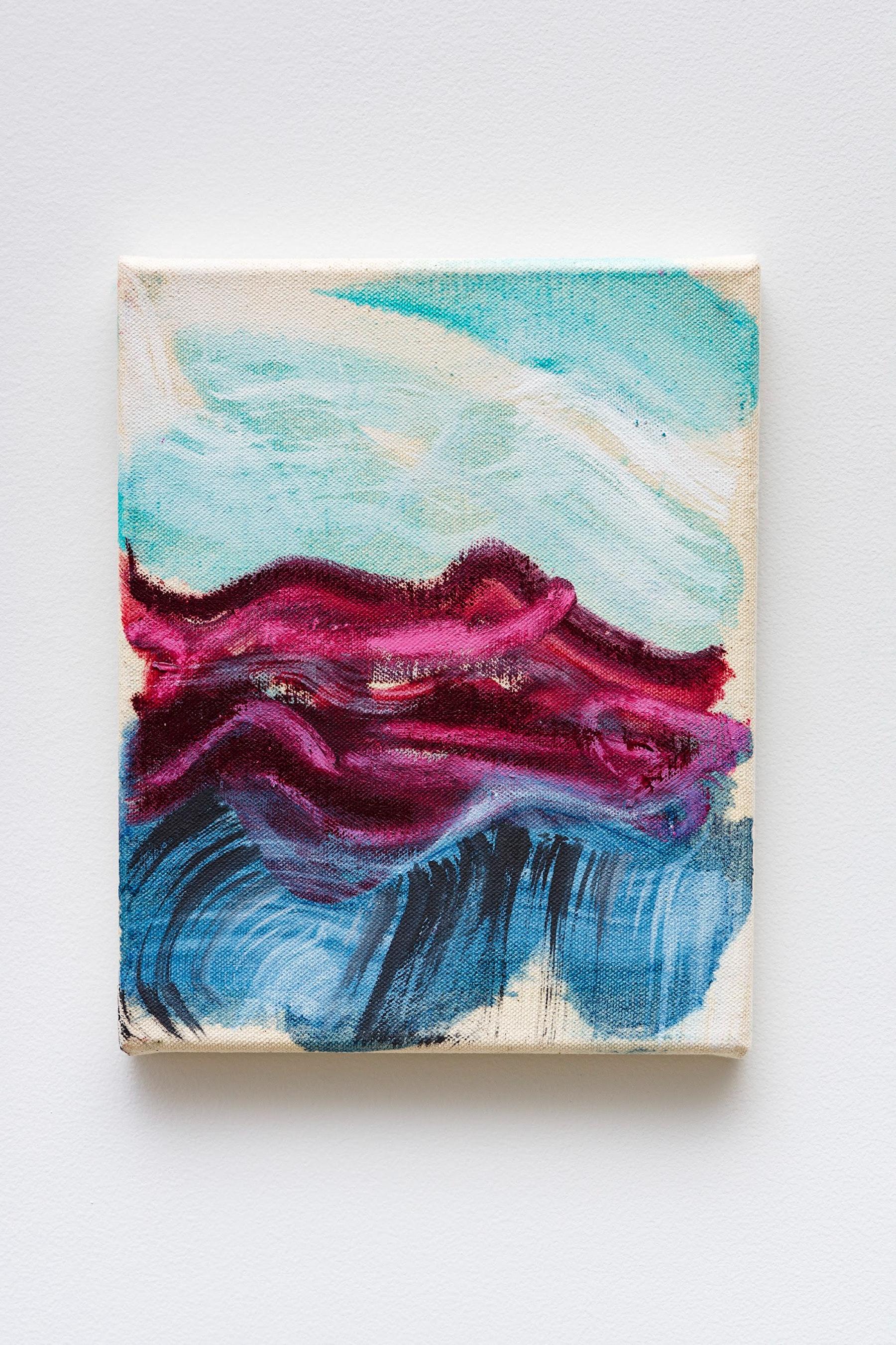 "Monique Van Genderen ""Untitled,"" 2020 Oil on canvas 10 x 8"" [HxW] (25.4 x 20.32 cm) Inventory #VGE402 Courtesy of the artist and Vielmetter Los Angeles Photo credit: Jeff Mclane"