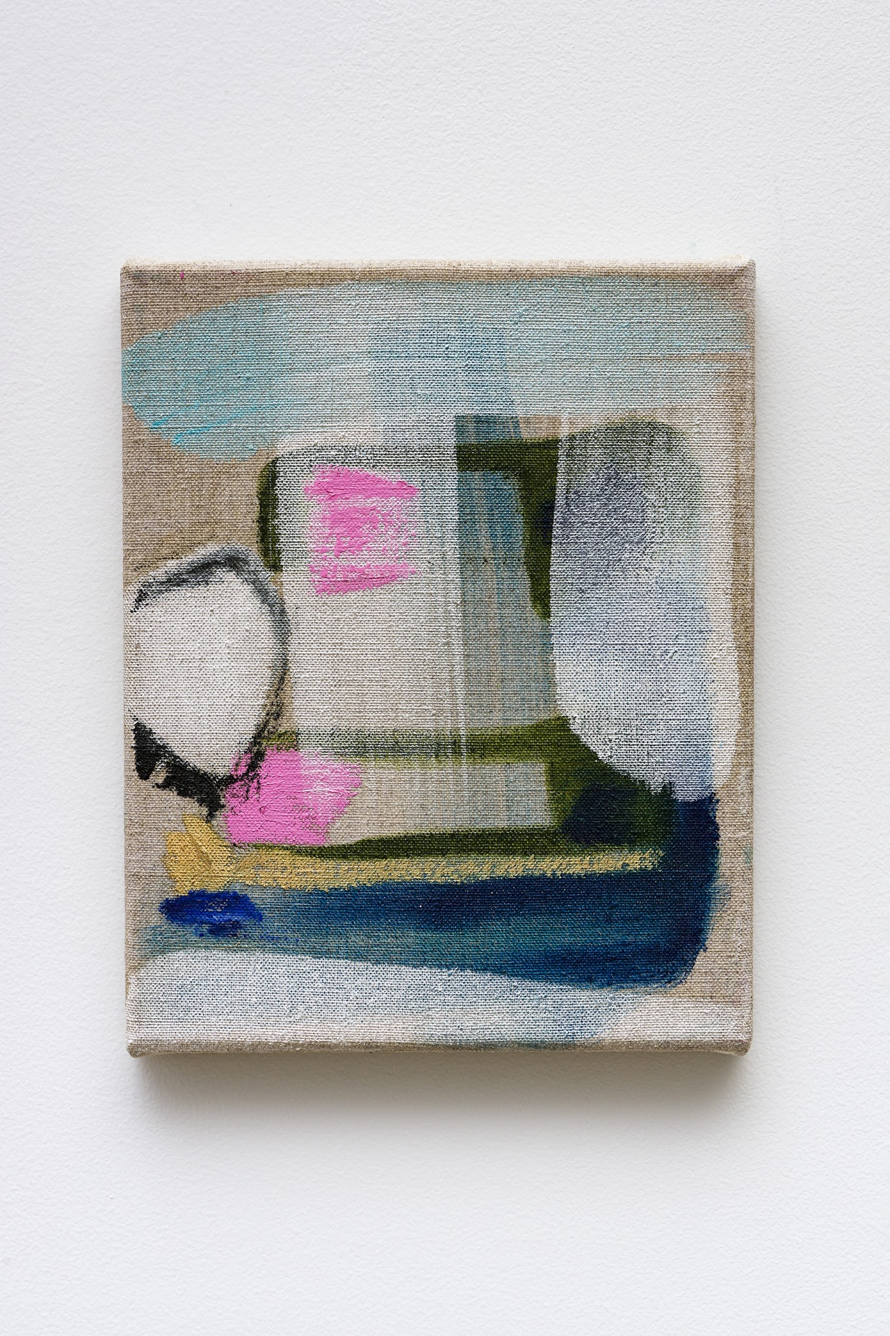 "Monique Van Genderen ""Untitled,"" 2020 Oil on linen 10 x 8"" [HxW] (25.4 x 20.32 cm) Inventory #VGE403 Courtesy of the artist and Vielmetter Los Angeles Photo credit: Jeff Mclane"