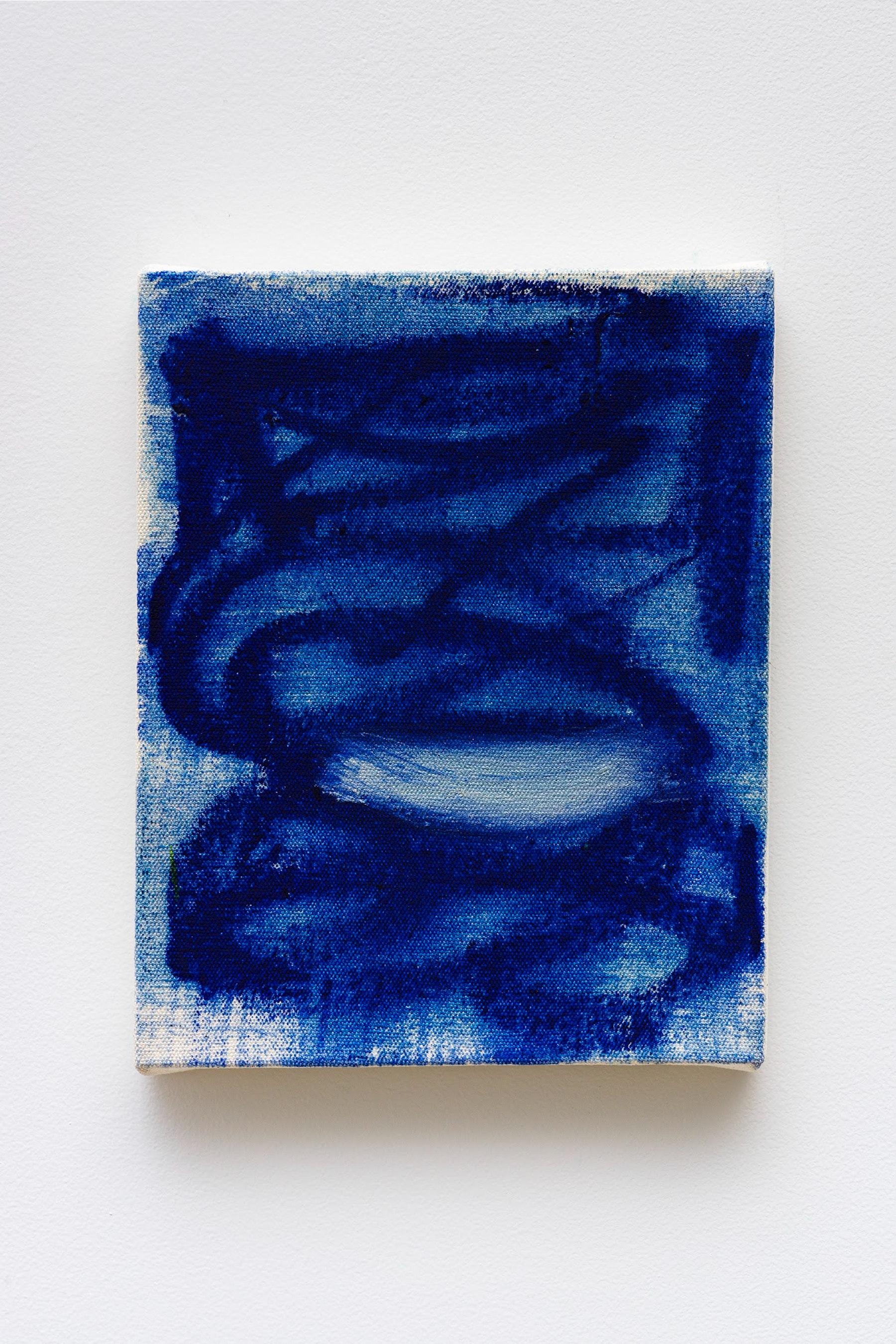 "Monique Van Genderen ""Untitled,"" 2020 Oil on canvas 10 x 8"" [HxW] (25.4 x 20.32 cm) Inventory #VGE404 Courtesy of the artist and Vielmetter Los Angeles Photo credit: Jeff Mclane"
