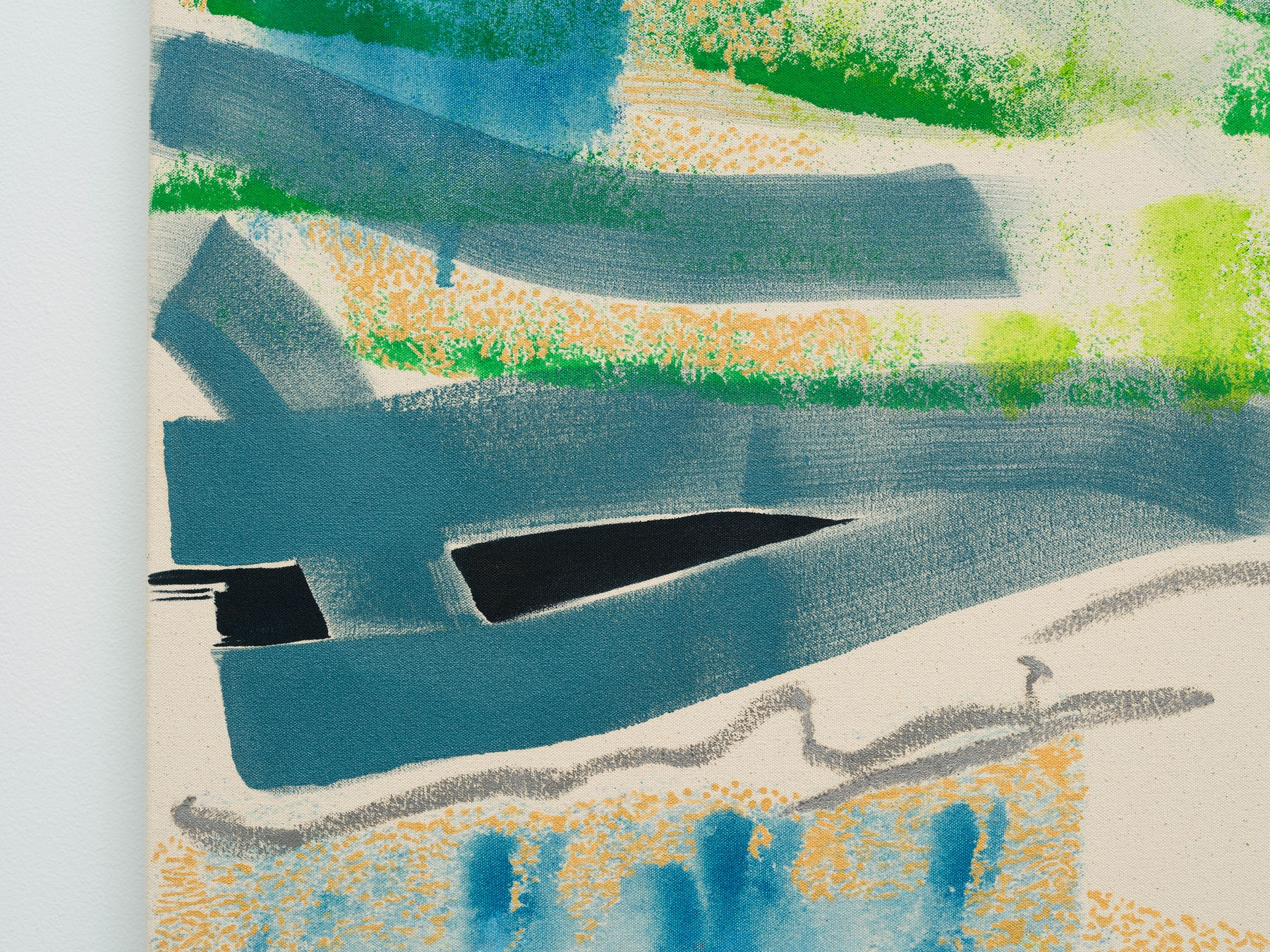 "Monique Van Genderen ""Snapshot 2,"" 2021 Oil on canvas 48"" x 36"" [HxW] (121.92 x 91.44 cm) Inventory #VGE412 Courtesy of the artist and Vielmetter Los Angeles Photo credit: Jeff McLane"