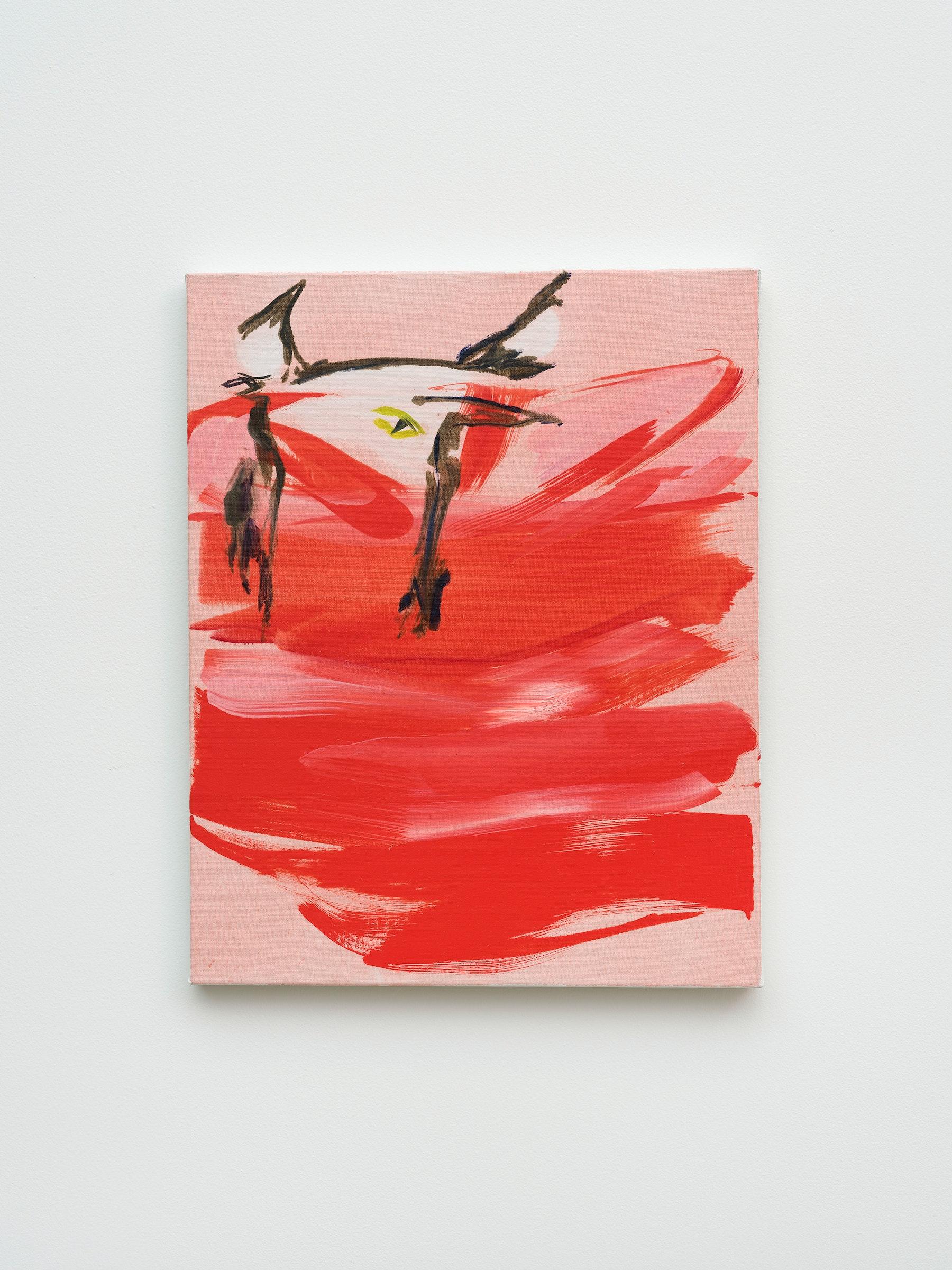 "Monique Van Genderen ""Ligne Roset Lou,"" 2019 Oil on linen 20"" x 16"" [HxW] (50.8 x 40.64 cm) Inventory #VGE413 Courtesy of the artist and Vielmetter Los Angeles Photo credit: Jeff McLane"