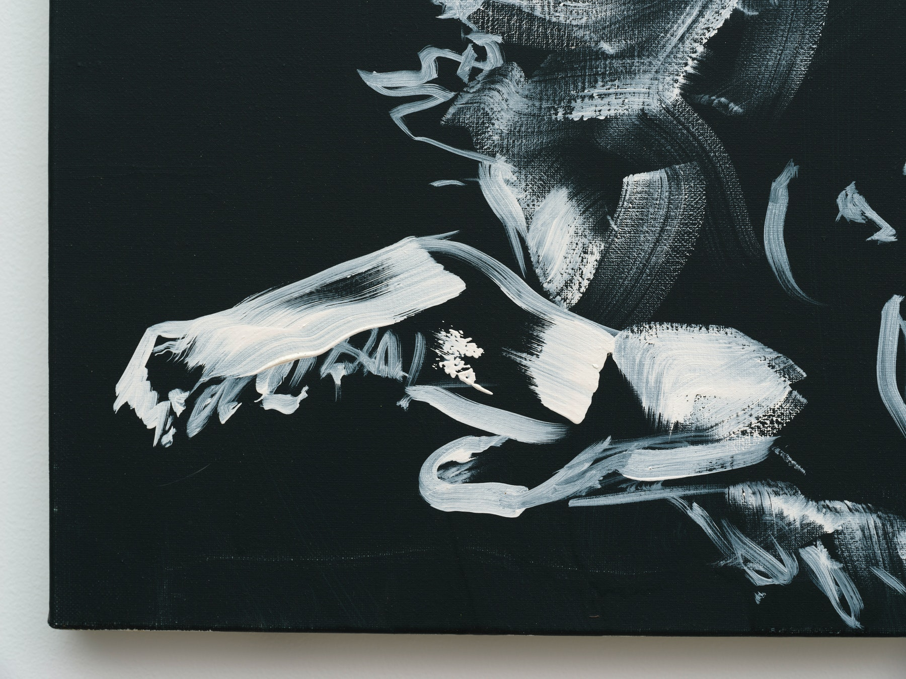 "Monique Van Genderen ""Nightime Lou,"" 2019 Oil on linen 20"" x 16"" [HxW] (50.8 x 40.64 cm) Inventory #VGE414 Courtesy of the artist and Vielmetter Los Angeles Photo credit: Jeff McLane"