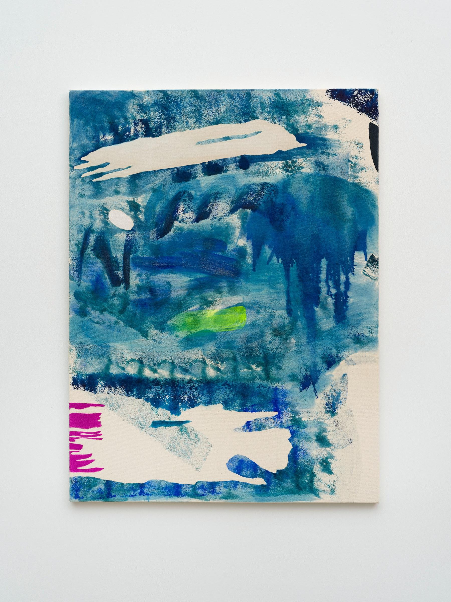 "Monique Van Genderen ""Snapshot 3,"" 2021 Oil on canvas 48"" x 36"" [HxW] (121.92 x 91.44 cm) Inventory #VGE415 Courtesy of the artist and Vielmetter Los Angeles Photo credit: Jeff McLane"
