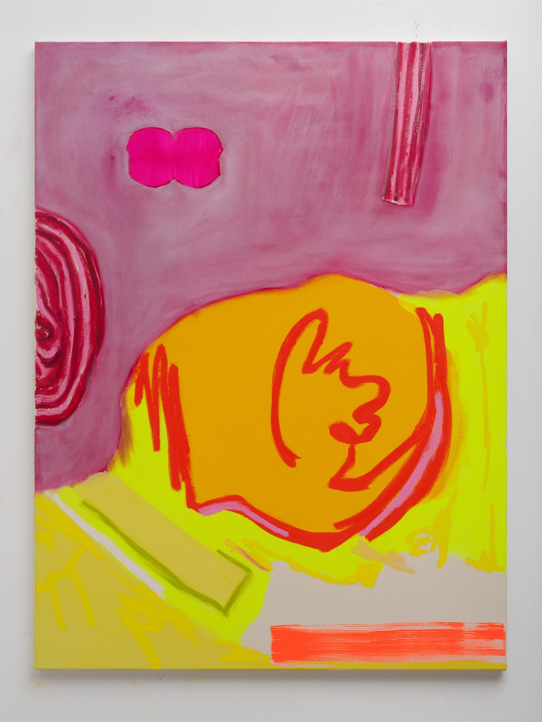 "Monique Van Genderen ""Snapshot 4,"" 2021 Oil on canvas 48"" x 36"" [HxW] (121.92 x 91.44 cm) Inventory #VGE416 Courtesy of the artist and Vielmetter Los Angeles Photo Credit: Jeff McLane"