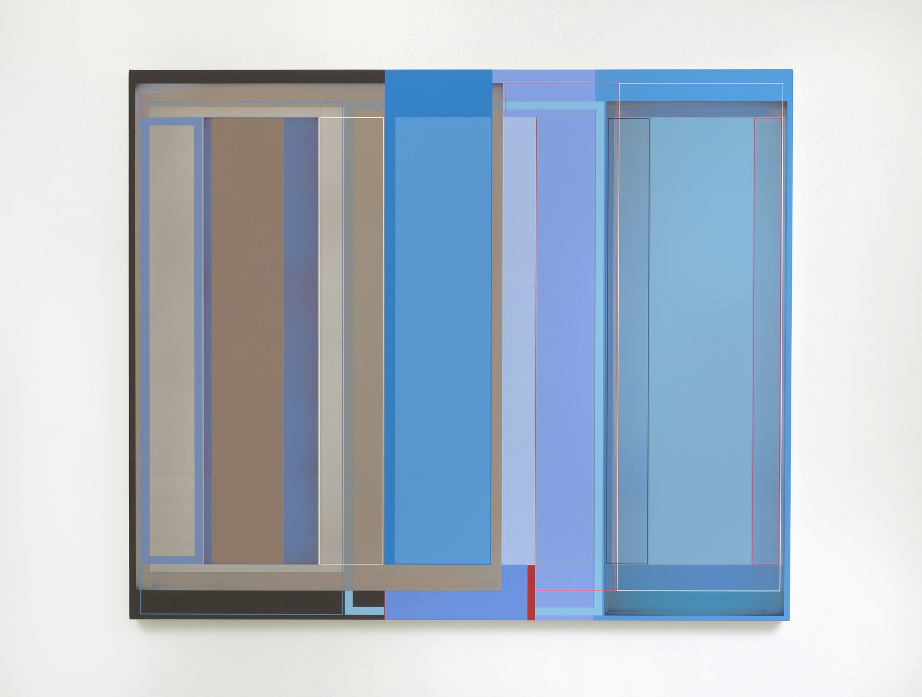 "Patrick Wilson ""Time and Place,"" 2020 Acrylic on canvas 49 x 59"" [HxW] (124.46 x 149.86 cm) Inventory #WIL568 Courtesy of the artist and Vielmetter Los Angeles Photo credit: Robert Wedemeyer"