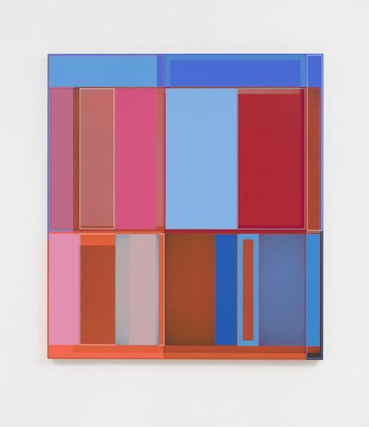 "Patrick Wilson ""Disrupted Grid (Instagram),"" 2020"