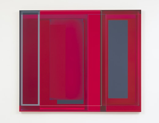 """Patrick Wilson """"Red Space,"""" 2019"""
