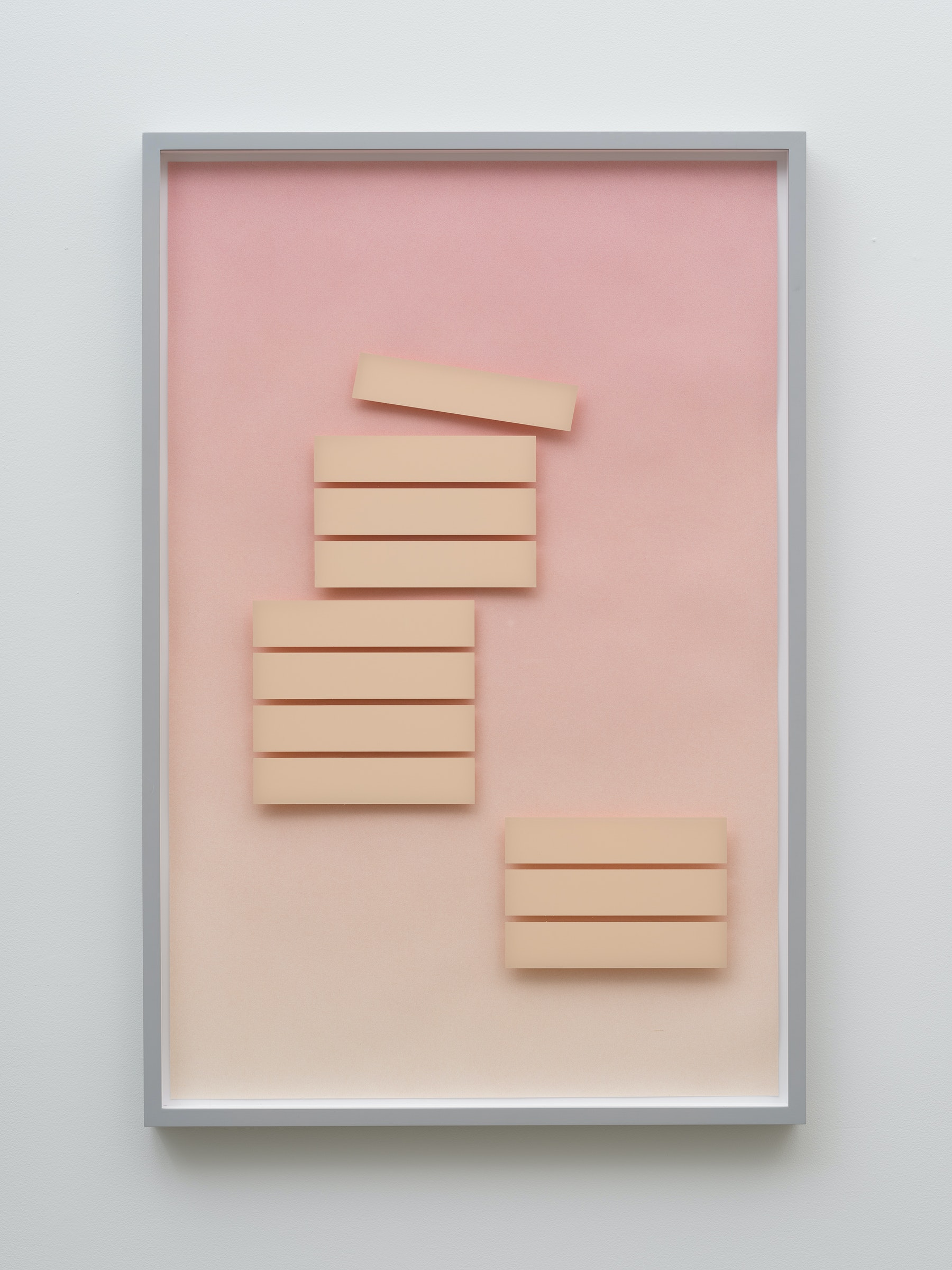 "Krista Buecking ""MATTERS OF FACT (The 4-Hour Workweek),"" 2016 Colored pencil on paper, acrylic on Plexiglas 41 x 27"" [HxW] (104.14 x 68.58 cm); 42 x 28 x 2"" [HxWxD] (106.68 x 71.12 x 5.08 cm) framed Inventory #WS1035 Photo credit: Jeff Mclane"